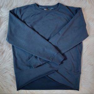 Zella Uplifted Blue Sweatshirt